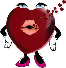 cuore femminile