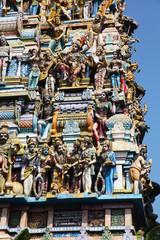 The Murugan Hindu Temple in Colombo
