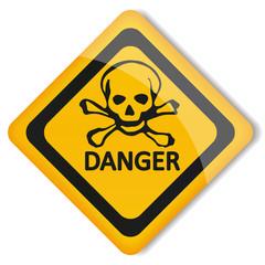 Label danger