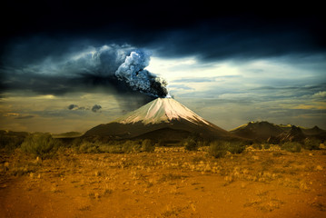 Photo sur Plexiglas Volcan Volcanos and all things related