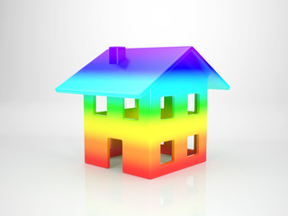 House out of Spectral Colours