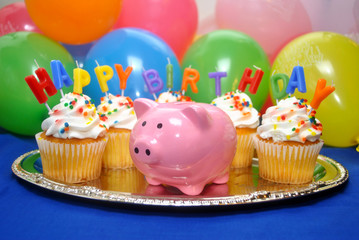 Happy Birthday Piggy Bank