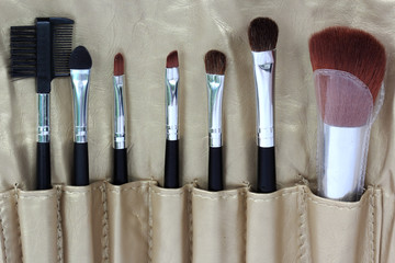 brush set makeup