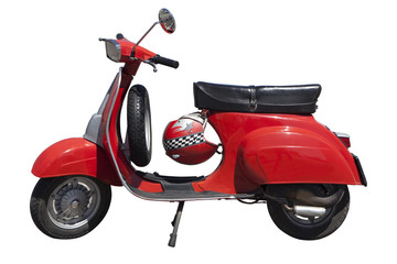 Photo Blinds Scooter Vespa Special rossa