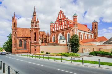 St Anne's church, Vilnius Wall mural