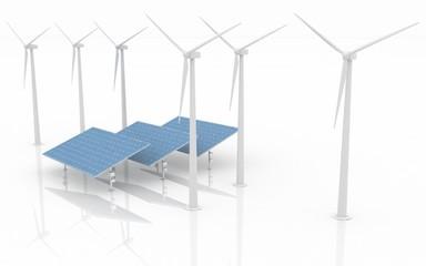 Alternative Energy Concept.
