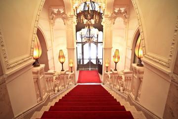luxurious staircase