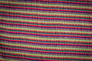 Multi colored striped texture and background