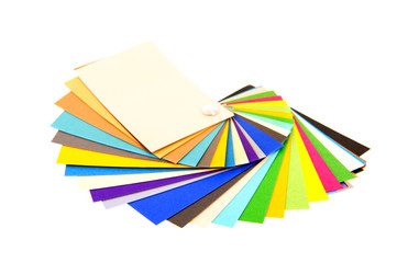 fresh color samples