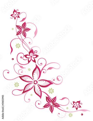 sommer frame blumen ranke pink rosa stockfotos und lizenzfreie vektoren auf. Black Bedroom Furniture Sets. Home Design Ideas