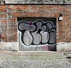 Graffiti Doors in Rome