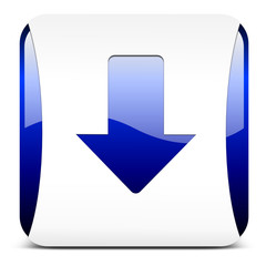 download button, blau