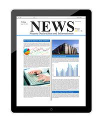 Tablet Pc mit News