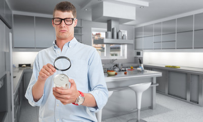 Food inspection in kitchen