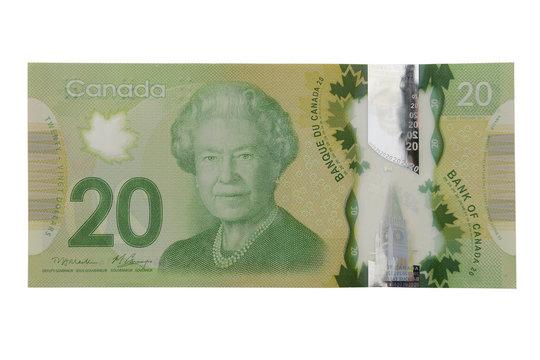 New 20 canadian dollar bill