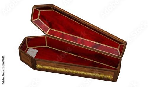 cercueil ouvert