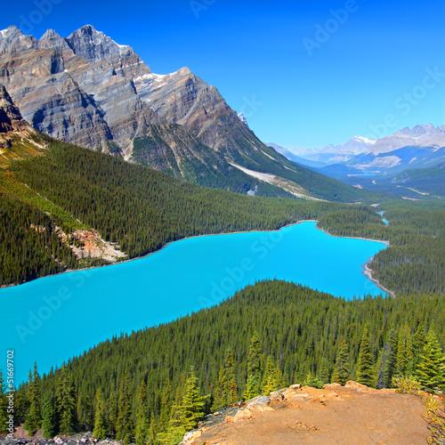 Wall mural Peyto Lake of Canada