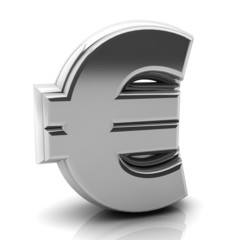 Render silver euro