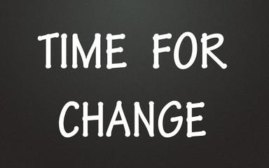 time for change symbol