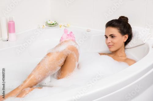 Мастурбация беременной девушки в ванной 56