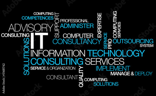Information Technology Consulting It Computer Tag Cloud Photo Libre