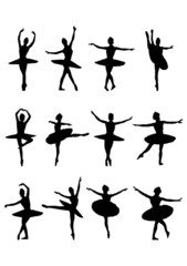 silhouette ballerina