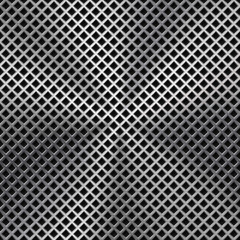 Fototapete - Metal Background with Seamless Perforated Texture