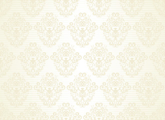 Seamless wallpaper on a striped background
