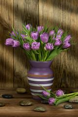 Obraz Bukiet tulipanów - fototapety do salonu