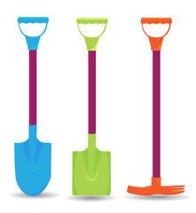 Gardening groundworks tools