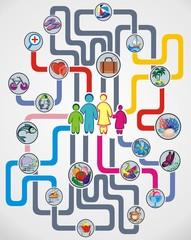Family infographics