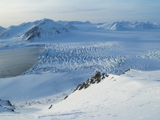 Arctic glacier - Spitsbergen, Svalbard