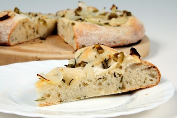Rosemary and olive Focaccia bread © Arena Photo UK