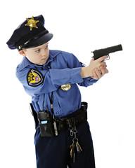 Young Shooting Police