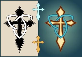 Celtic cross design 1