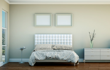 Schlafzimmer in Strandhaus