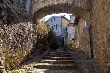 Archway in Mirmande, France