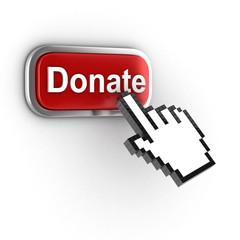 donate 3d button