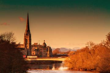 Pretty Churh in Perth Scotland