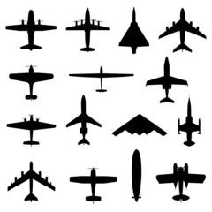 Flugzeuge von oben