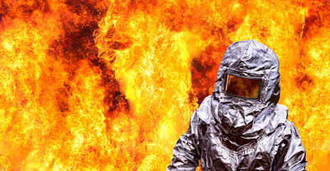 protective fire suit