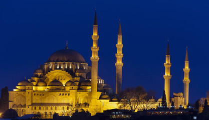 Mezquita de Soliman (Estambul,Turquia)