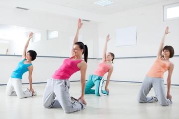 Women On Aerobic Class