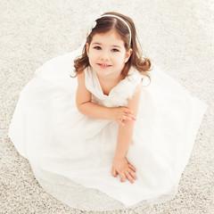 Cute Girl in a Dress