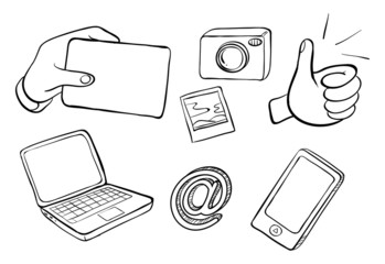 Different kinds of gadgets