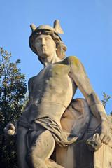 Hermes. Entrada al parque de la Ciutadella. Barcelona