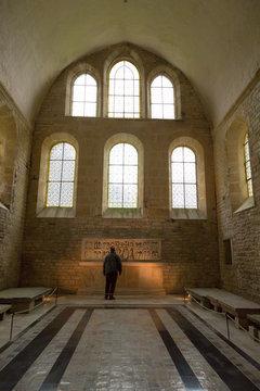 Nef de l'église - abbaye de Fontenay