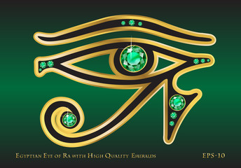 Eye of Ra Emerald
