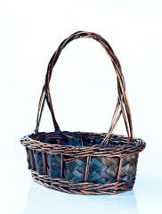 Image of basket isolated on white