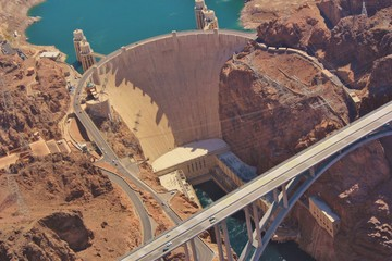 Printed kitchen splashbacks Dam Hoover Dam
